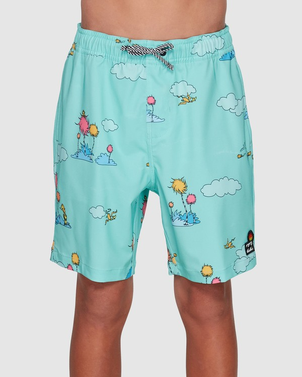 0 Dr. Seuss Lorax Sundays Layback Boardshorts Green 8508401 Billabong
