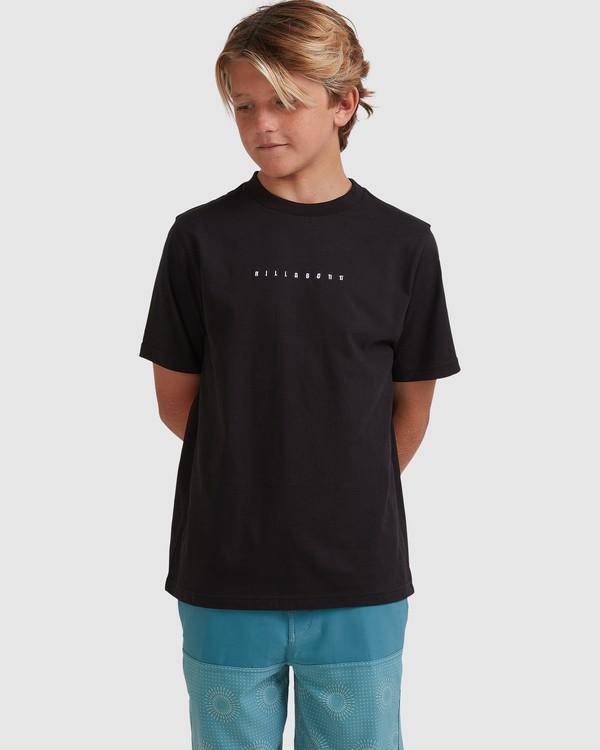 0 Boys 8-16 Smitty Short Sleeve Tee Black 8513015 Billabong