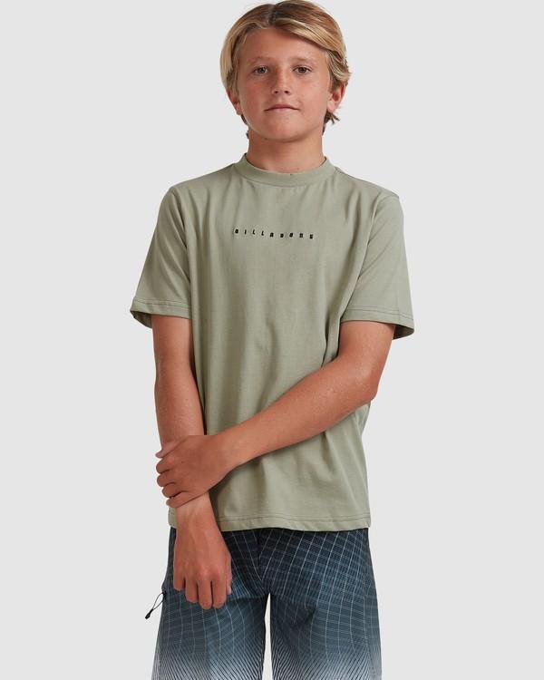 0 Boys 8-16 Smitty Short Sleeve Tee Green 8513015 Billabong