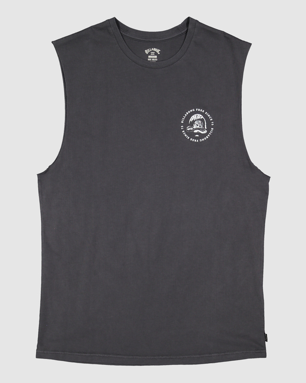 0 Boys 8-16 Sunken City Muscle Tank Black 8513503 Billabong