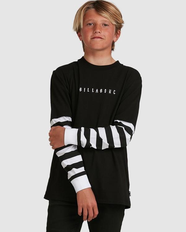 0 Boys Maze Long Sleeve Tee Black 8517171 Billabong