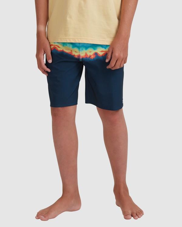 0 Boys 8-16 Fifty50 Pro Boardshorts Blue 8517414 Billabong