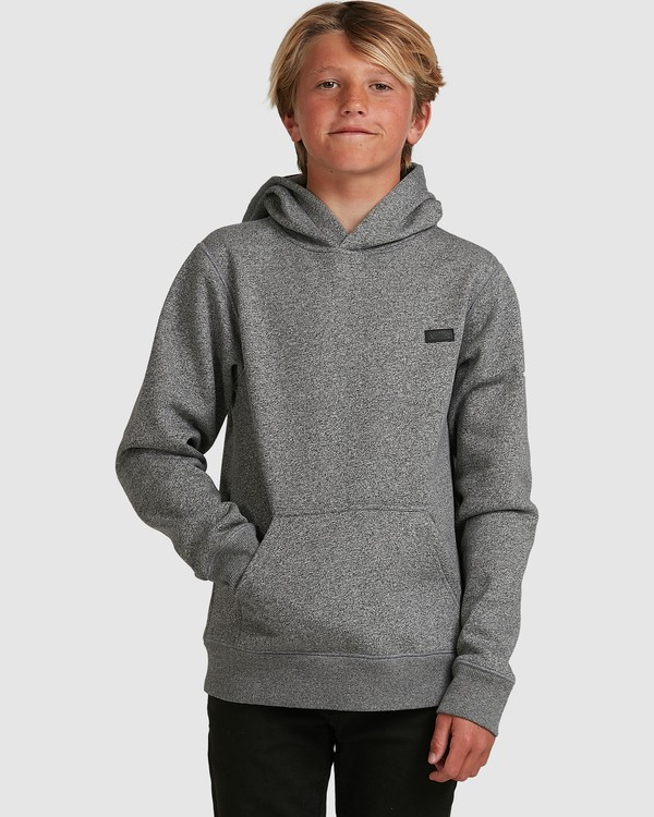 0 Boys Shoreline Pullover Grey 8517603 Billabong