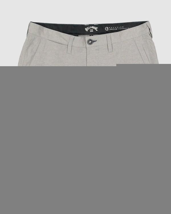 0 Boys 8-16 Crossfire Shorts Grey 8518700 Billabong