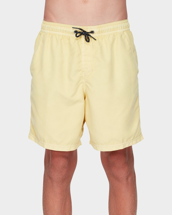 0 BOYS ALL DAY OVERDYE LAYBACK BOARDSHORTS Yellow 8572439 Billabong