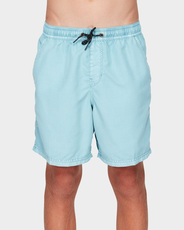 0 BOYS ALL DAY OVERDYE LAYBACK BOARDSHORTS Blue 8572439 Billabong