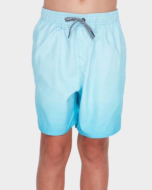 0 TEEN SERGIO LAYBACK BOARDSHORT Green 8581417 Billabong