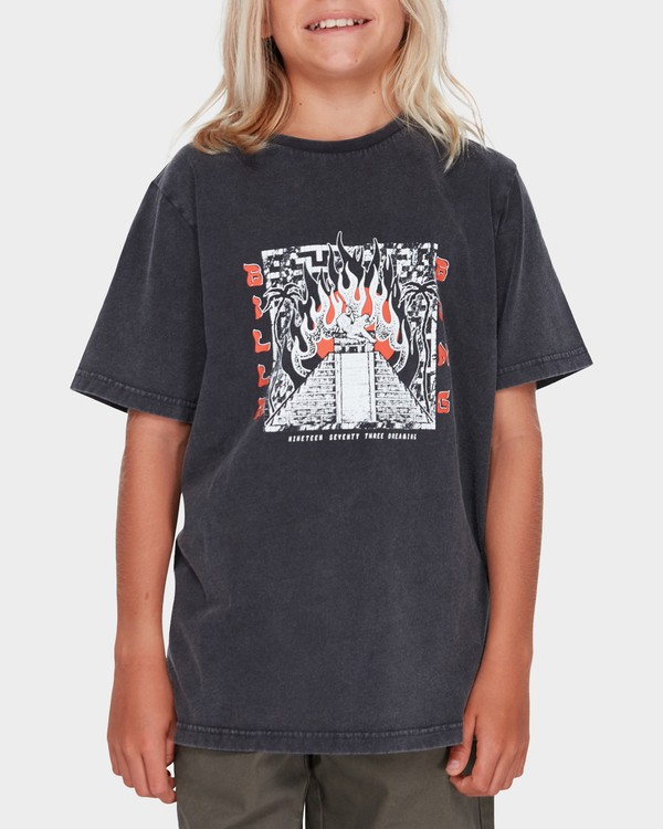 0 TEEN WEIRD DREAM TEE Black 8582019 Billabong