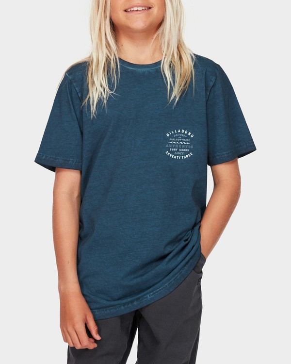 0 Boys Type Wave Tee Blue 8591007 Billabong
