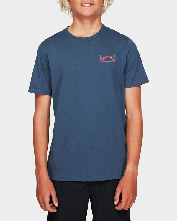 0 Boys Boxed Arch T Grey 8591051 Billabong