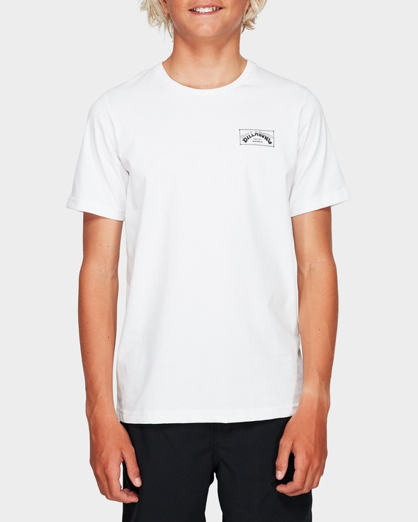 0 Boys Boxed Arch T White 8591051 Billabong