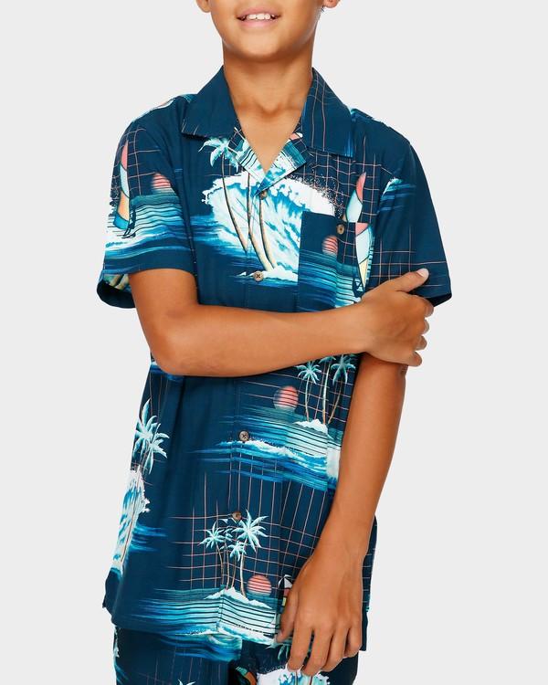 0 Teen Vacay Printed Shirt Blue 8591212 Billabong