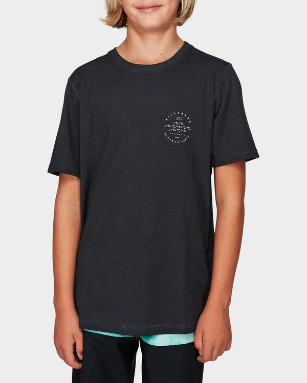 0 Boys Wavy Davy Tee Black 8592001 Billabong