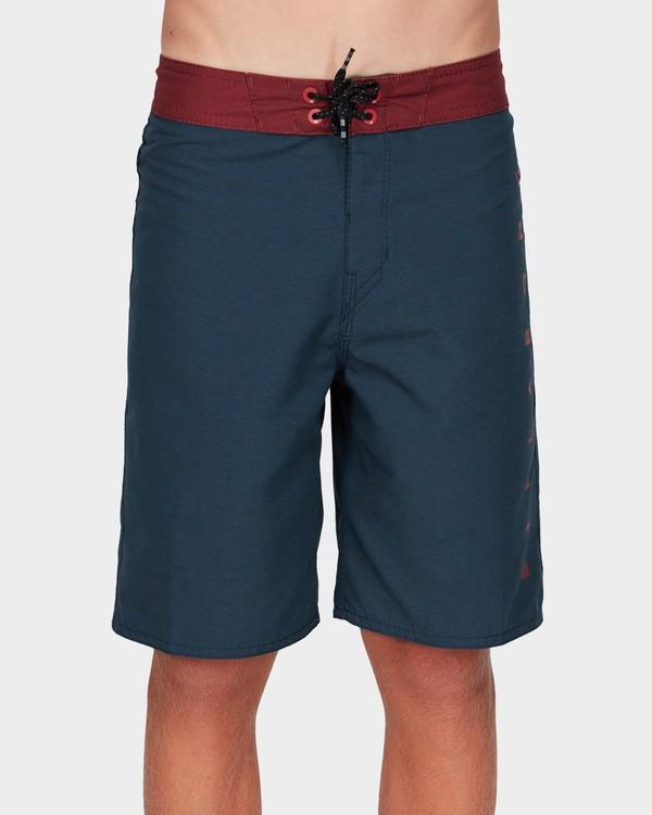 0 Boys Shadow Cut Og Boardshorts Blue 8592425 Billabong