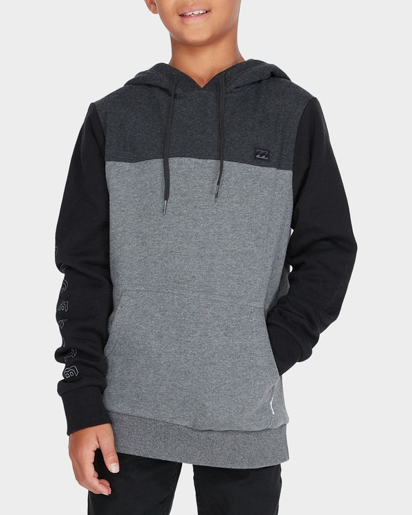 0 TRILOGY POP HOOD Black 8595621 Billabong