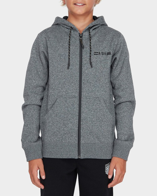 0 TEEN ADIV SHORELINE ZIP HOOD Grey 8595628 Billabong