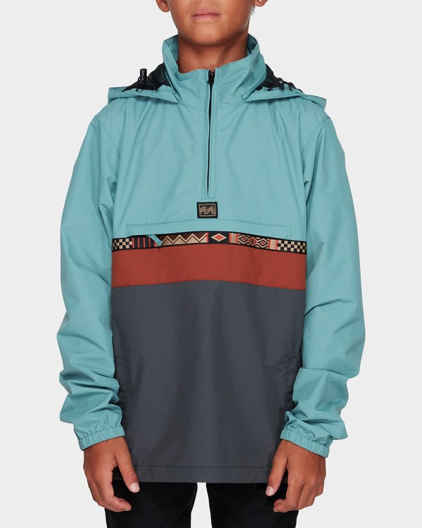 0 BOYS WIND SWELL A Green 8595907X Billabong