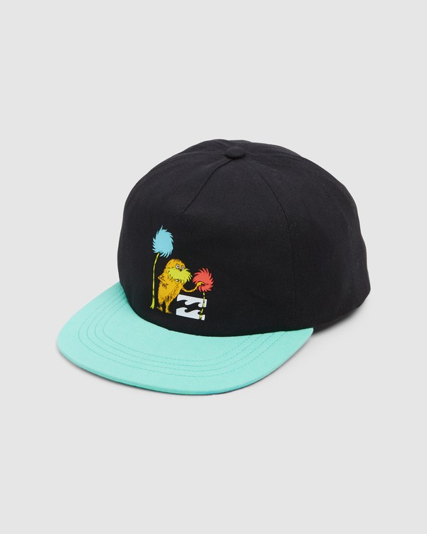 0 Dr. Seuss Truffla Snapback Cap Black 8608300 Billabong