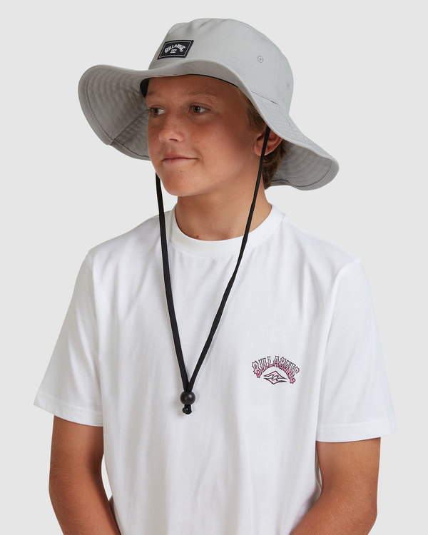 0 Boys Big John Hat Grey 8613301 Billabong