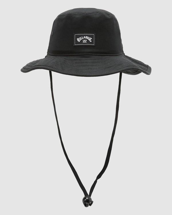 0 Boys Big John Hat Black 8613301 Billabong