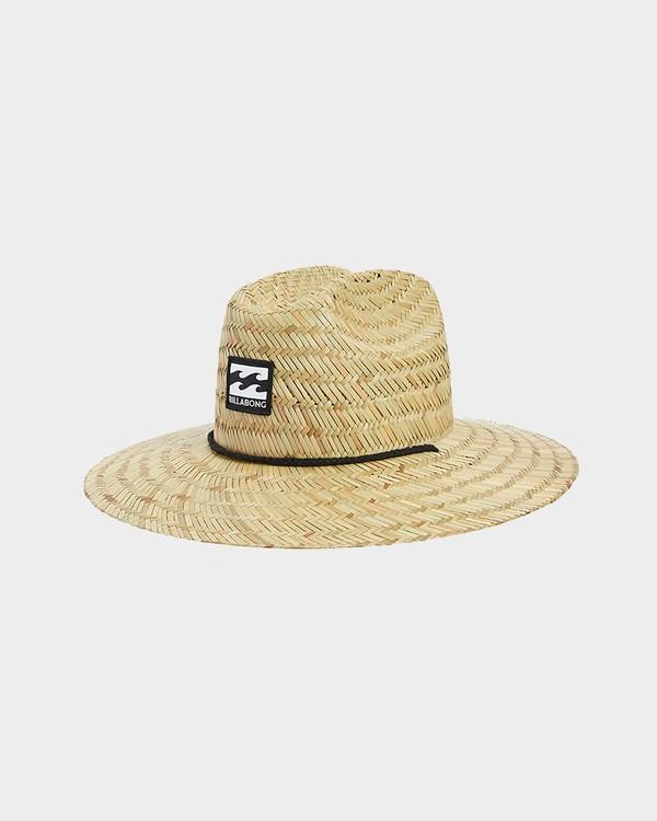 0 Boys Tides Straw Hat Beige 8672301 Billabong
