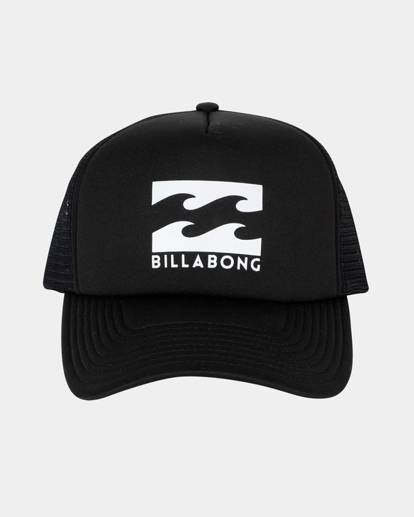 0 Boys Podium Trucker Cap Black 8681304 Billabong
