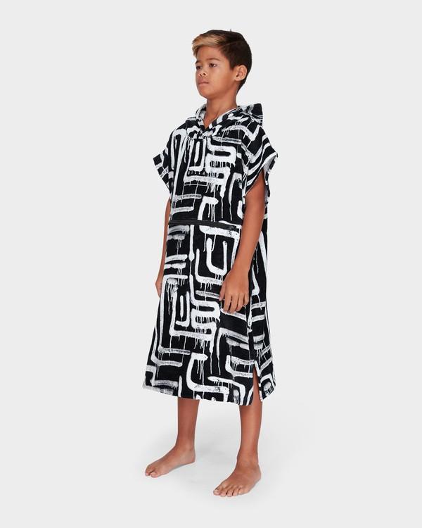 0 TEEN HOODIE TOWEL Black 8682705 Billabong