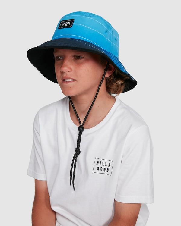 0 Boys Division Reversible Hat Blue 8691304 Billabong