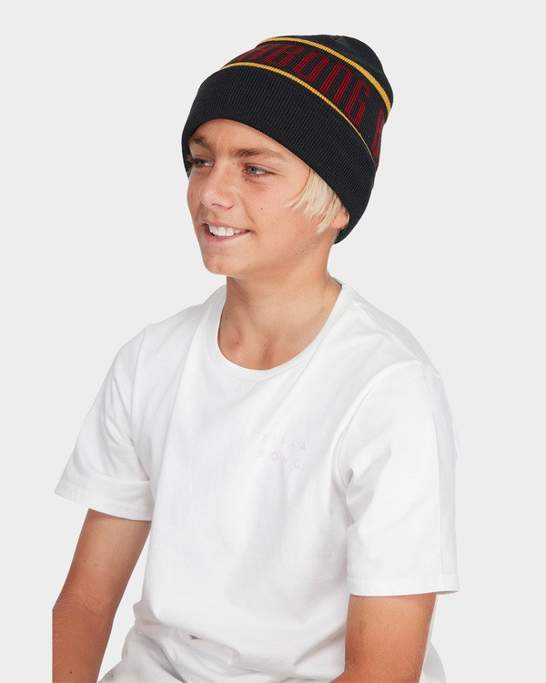 0 TEEN DEFENDER BEANIE Black 8695352 Billabong