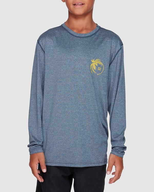 0 Boys Storm Lf Long Sleeve Surf Shirt Blue 8707507 Billabong