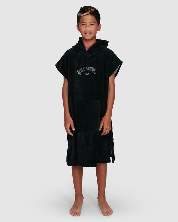 0 Boys Wetsuit Hoodie Towel Black 8707710 Billabong