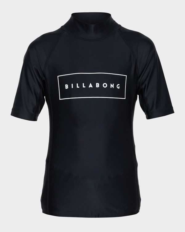 0 TEEN ALL DAY PERFORMANCE FIT RASHGUARD  8781001 Billabong