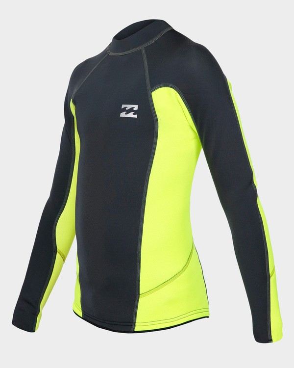 0 Boys Absolute Lite Wetsuit Jacket Yellow 8791132 Billabong