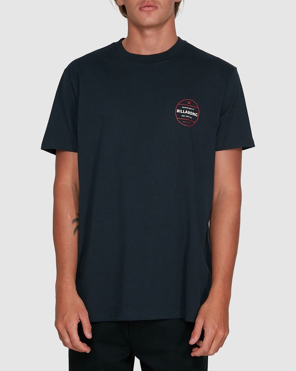 0 Rotor Short Sleeve Tee Blue 9503011 Billabong