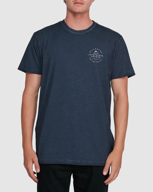 0 Big Wave Dave Short Sleeve Tee Blue 9503012 Billabong