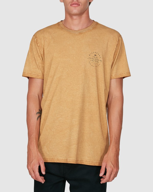 0 Big Wave Dave Short Sleeve Tee Grey 9503012 Billabong