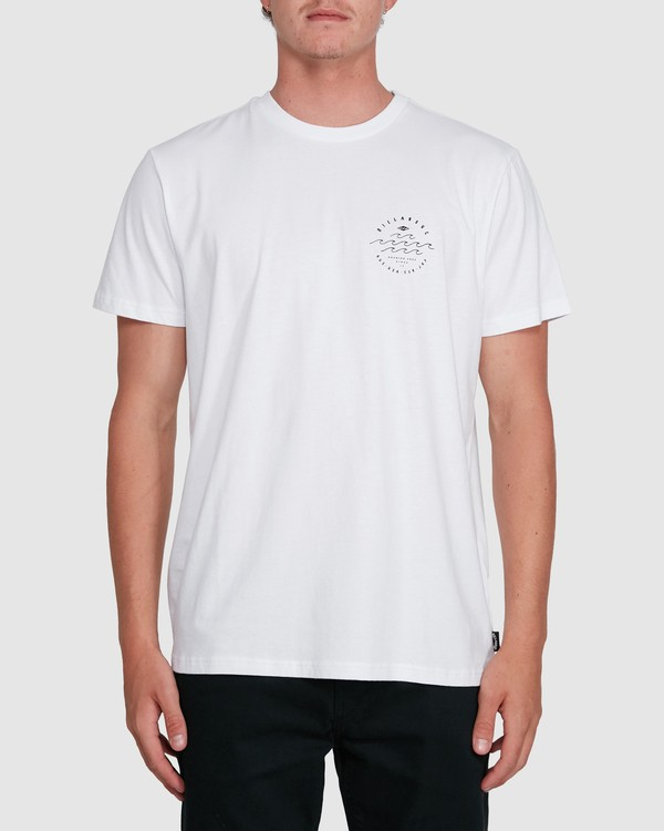 0 Big Wave Dave Short Sleeve Tee White 9503012 Billabong