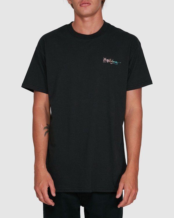 0 Crayon Wave Short Sleeve Tee Black 9503016 Billabong