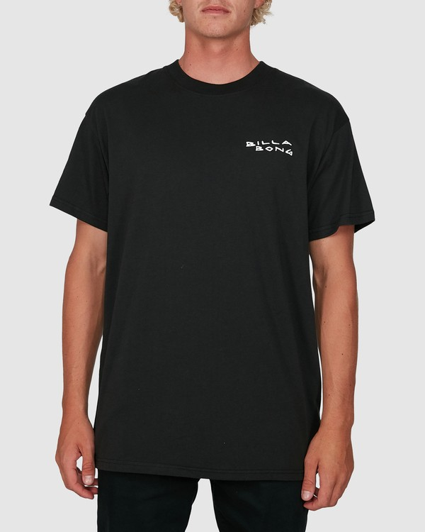 0 King Palm Short Sleeve Tee Black 9503019 Billabong