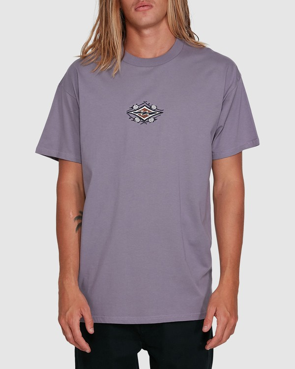 0 Yerrrp Short Sleeve Tee Purple 9503023 Billabong
