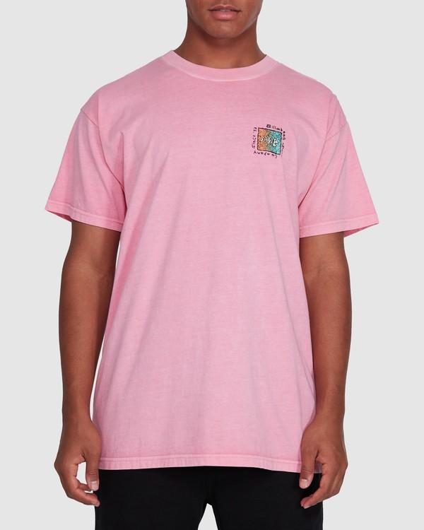 0 Mondo Short Sleeve Tee Pink 9503031 Billabong
