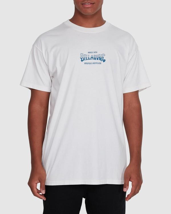 0 Surf Supply Short Sleeve Tee White 9503038 Billabong