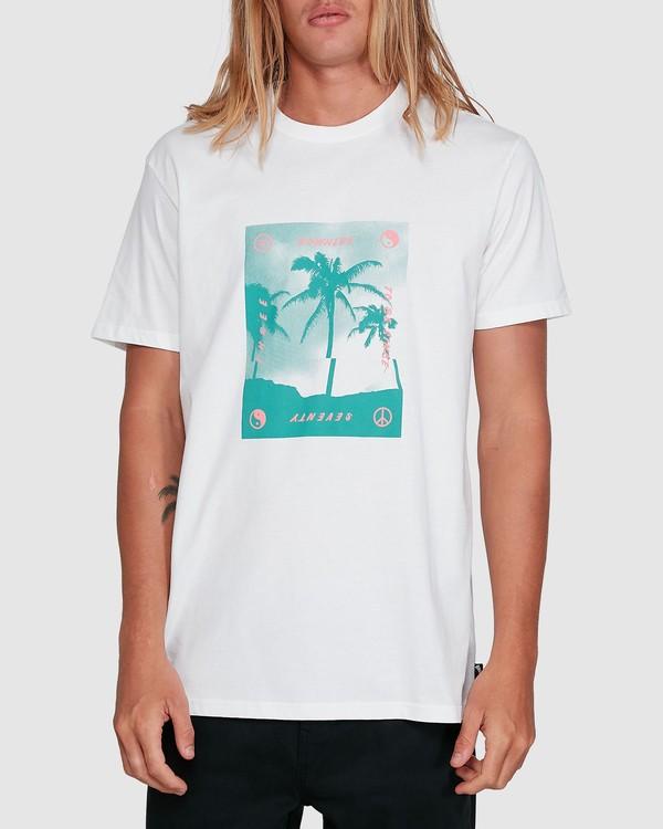 0 Cut Palm Short Sleeve Tee White 9503039 Billabong