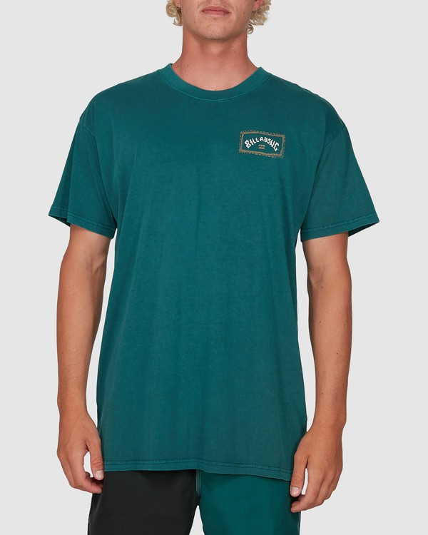 0 Dream Time Arch Short Sleeve Tee Green 9503051 Billabong