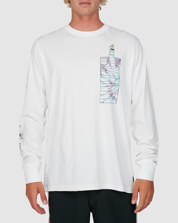 0 Dr. Seuss Great Places Long Sleeve Tee White 9503182 Billabong