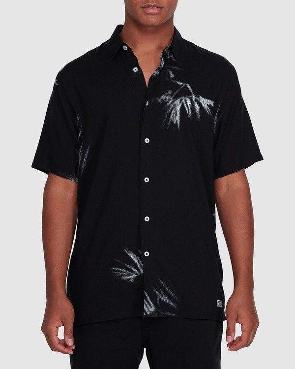 0 Sundays Tribes Short Sleeve Shirt Black 9503207 Billabong