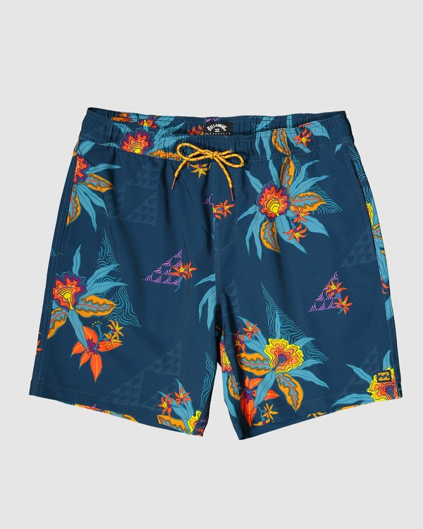 0 Sundays Layback Boardshorts Blue 9503430 Billabong