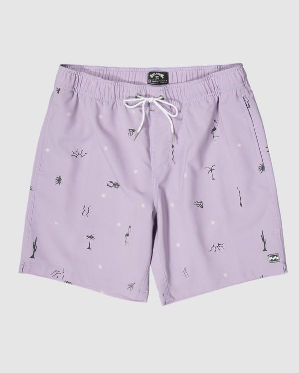 0 Sundays Layback Boardshorts Purple 9503430 Billabong