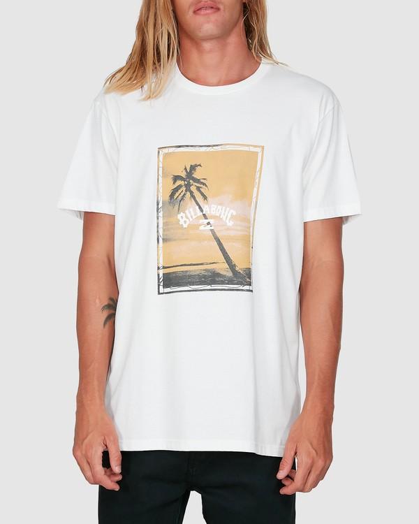 0 Sunshine Happy Short Sleeve Tee White 9504001 Billabong
