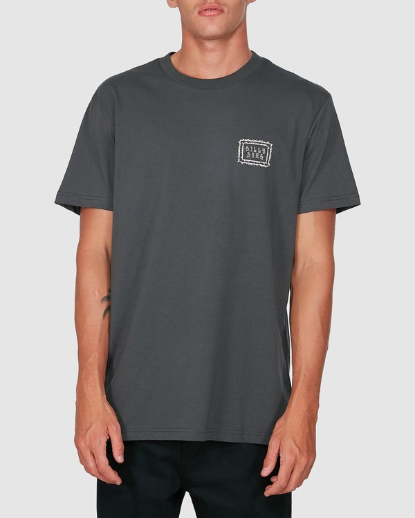 0 Holy Smokes Short Sleeve Tee Black 9504007 Billabong